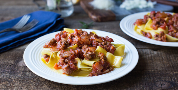 Lamb Ragu with Pappardelle National Onion Association