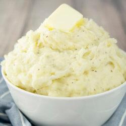Roasted Garlic and Onion Mashed Potatoes