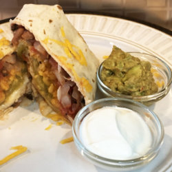 Microwave Chiles Rellenos Wraps National Onion Association