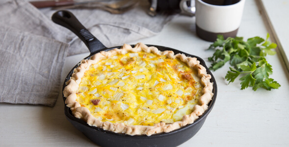 Sweet Onion Quiche Lorraine National Onion Association