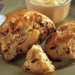 Savory Onion and Dried Cherry Scones National Onion Association