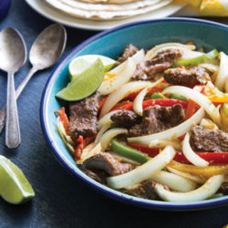 Sizzling Steak and Onion Fajitas National Onion Association