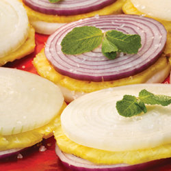 Pineapple Mint Onion Stacks National Onion Association