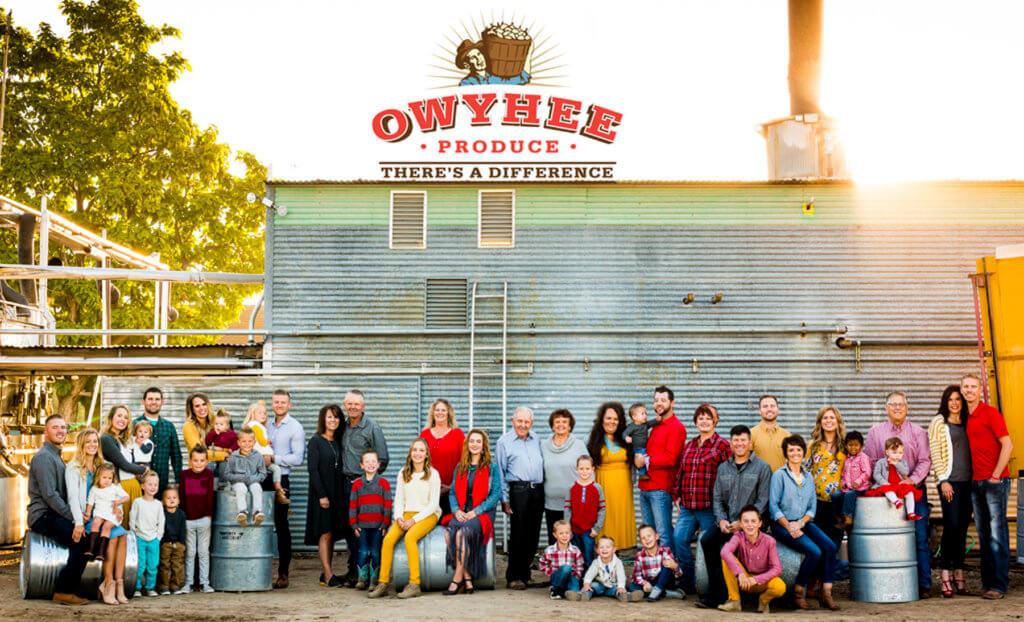Owyhee Produce family photo
