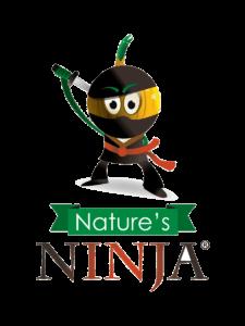 Yellow Nature's Ninja logo