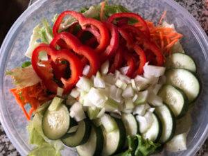 Tub of Salad