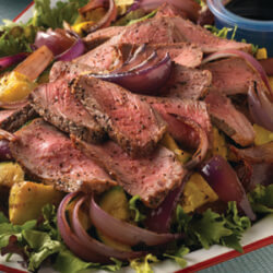 Grilled Beef n Onion Salad